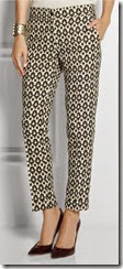 Etro Printed Stretch Wool Trousers