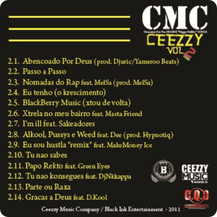 ceezzy vol 2 back