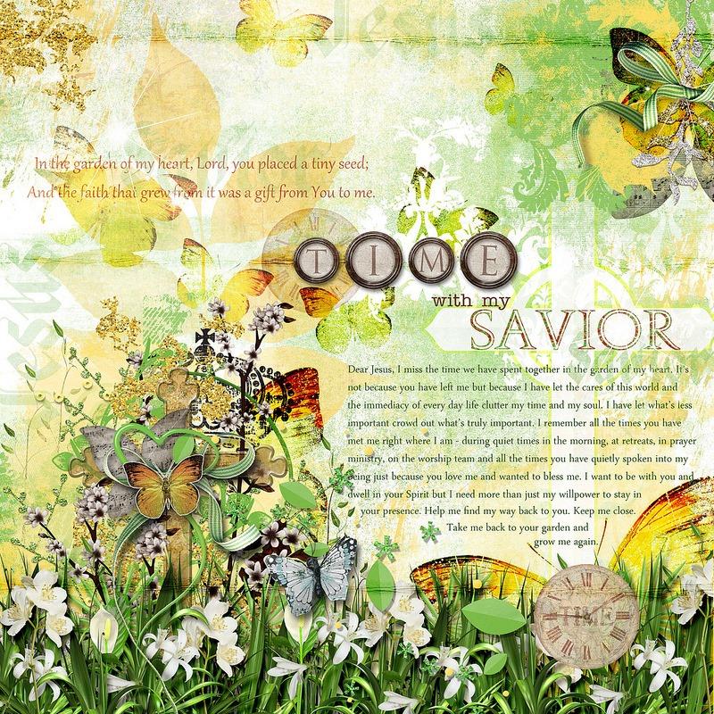 time with my savior