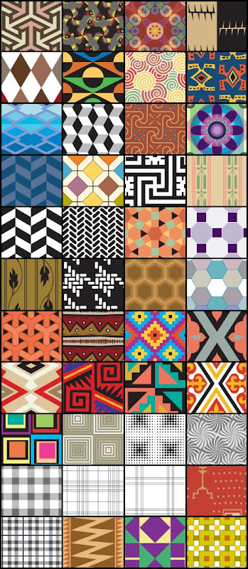Illustrator decorative patterns for Photoshop