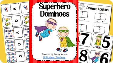Superhero Dominos