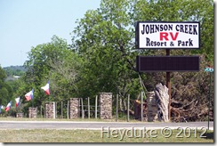 Johnson Creek RV Park