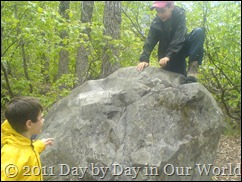 R and D find a big rock to scale