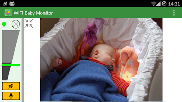Screenshot of WiFi Baby Monitor