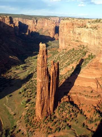 Canyon de Chelly National Monument Spider Rock (4)