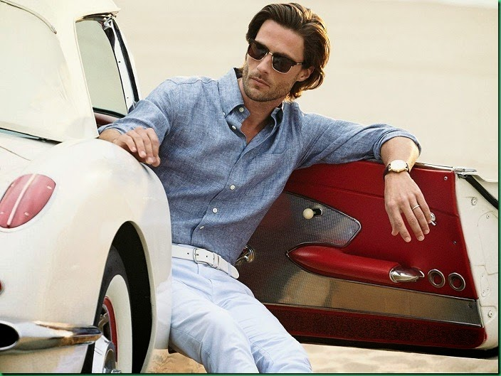 Tommy Dunn for Brooks Brothers Spring 2014