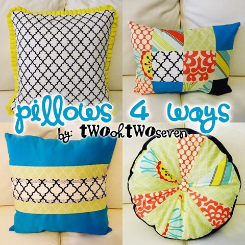 37 pillows 4 ways