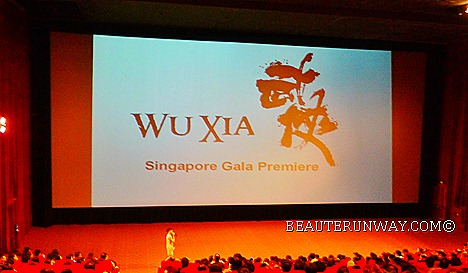 WU XIA Singapore Donnie Yen Peter Chan at Gala Premiere