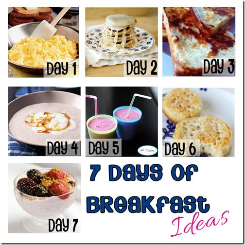7 Breakfast Ideas for Kids #recipes #backtoschool