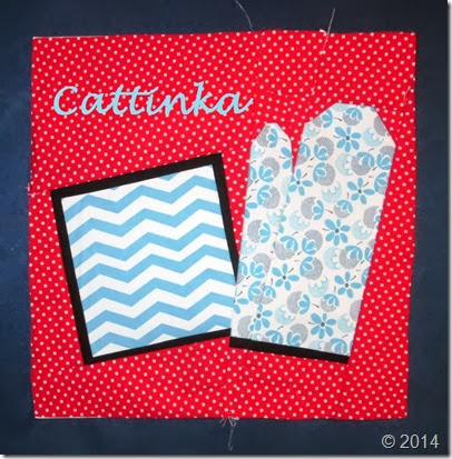 Sew Kitschy Block by Cattinka
