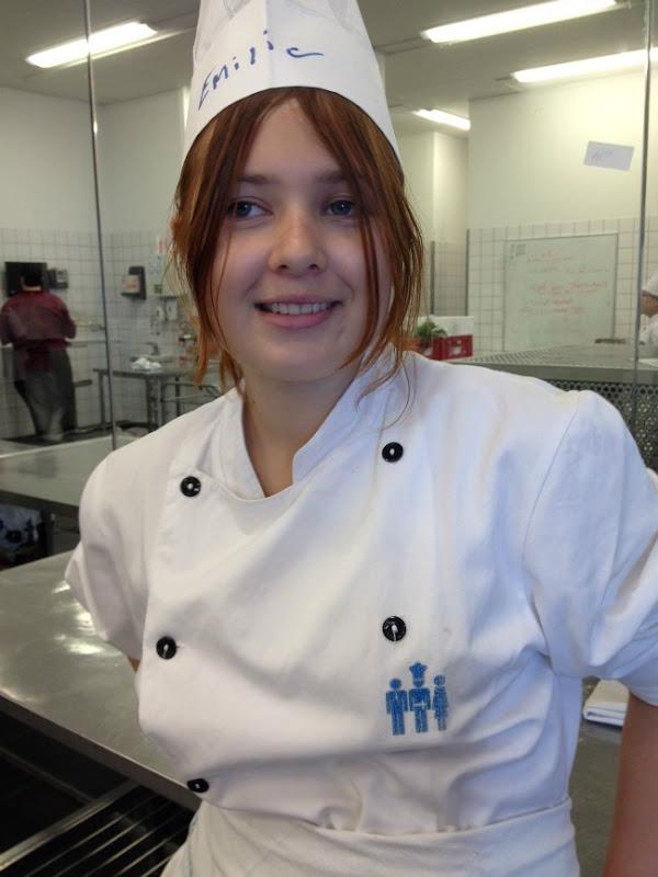 Emilie på Hotel og Restaurantskolen