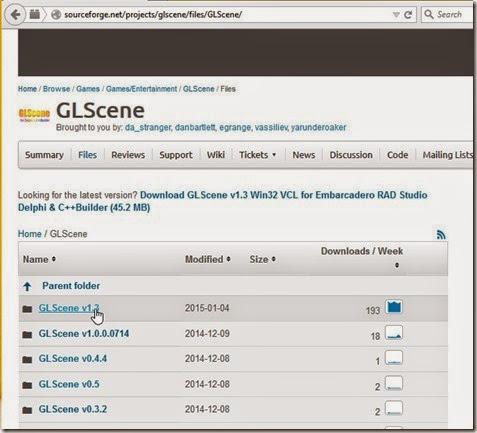 GLScene available versions