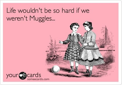 muggles via someecards