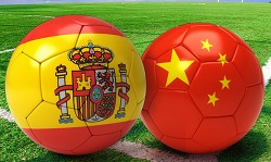 españa vs china en vivo online