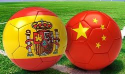 españa vs china en vivo online