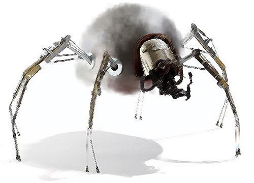 Adina Fluffy Robot 1