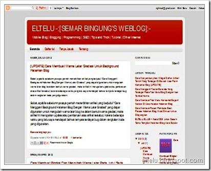 ELTELU - Ilustrasi Halaman Blog