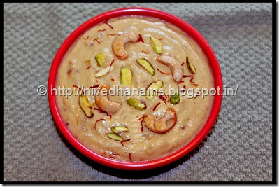 Almonds Dates Payasam  - IMG_1873