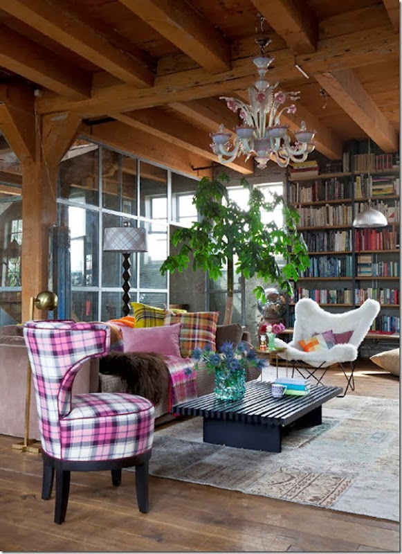 tendenza tartan - home decor - arredamento (13)
