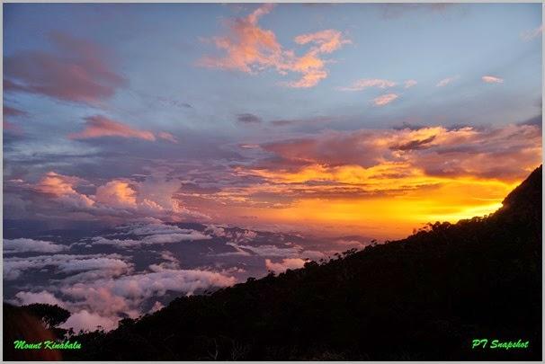 Laban Rata Sunset