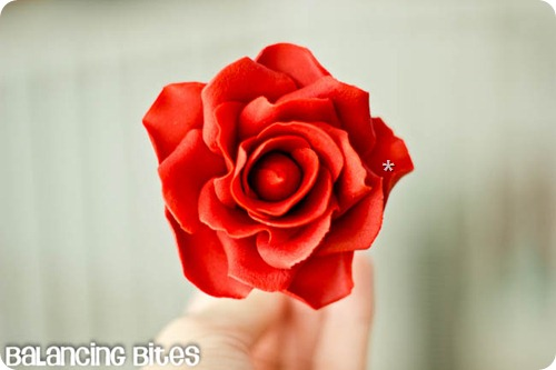 How to make gum paste roses (15)