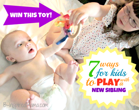Ways for Kids to Play with a New Sibling 1