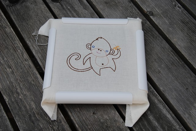 Embroiderec monkey
