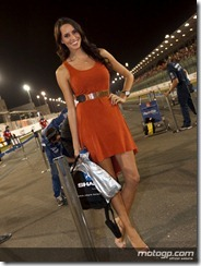Paddock Girls Commercialbank Grand Prix of Qatar  08 April  2012 Losail Circuit  Qatar (5)