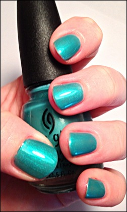 China Glaze Passion in the Pacific Swatch