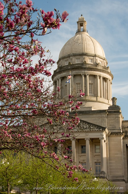 Spring at Kentucky's State Capital