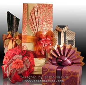 shiho masuda asian-inspired gift wrap designs