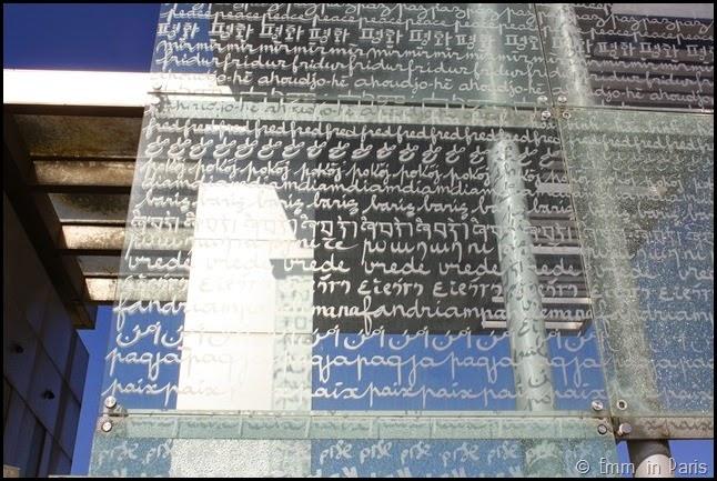 Handwriting in Paris