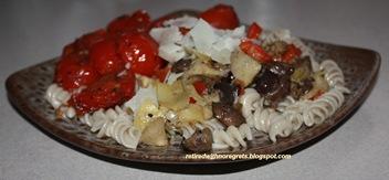 Quick Pasta Dish - Served B