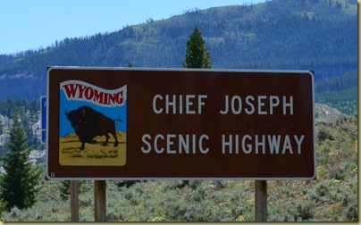 Chief Joseph Sign