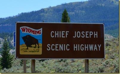 Chief Joseph Sign