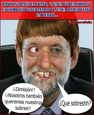 Rajoy y los sobres