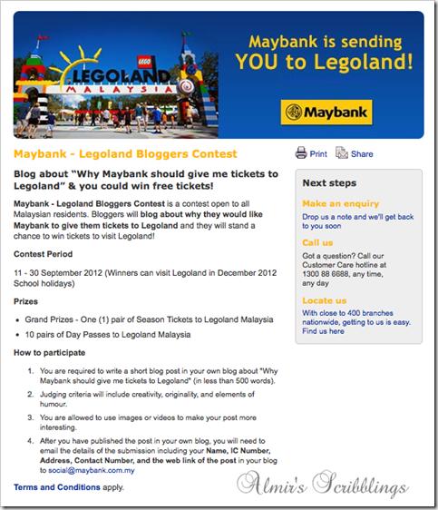 maybank legoland ad