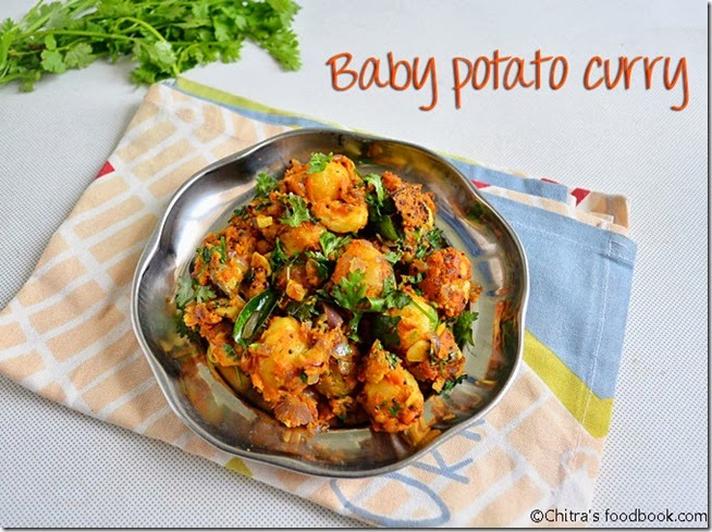 baby potato curry-002