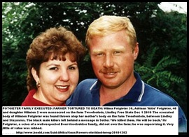 POTGIETER ADRIAAN ATTIE WIFE WILNA MURDERED WITH DAUGHTER WILMIEN2 DEC12011 LINDLEY FARM