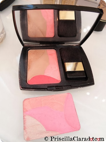 Priscilla Makeup Contest Lancome Alber Elbaz blush on