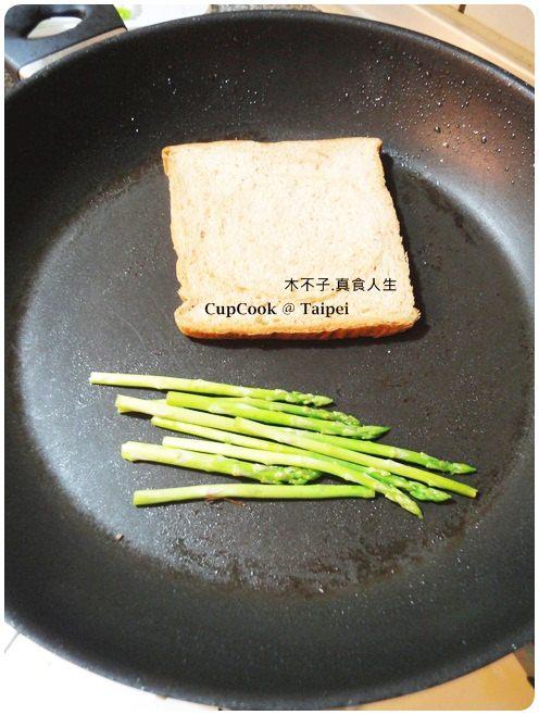 蘆筍起司烤吐司 (1)
