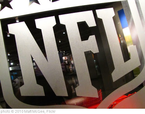'NFL logo' photo (c) 2010, Matt McGee - license: https://creativecommons.org/licenses/by-nd/2.0/