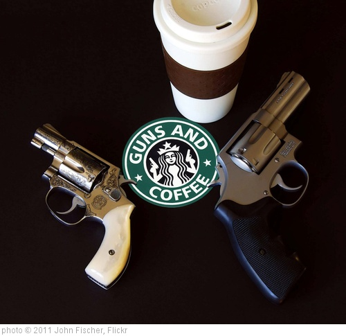 'Guns and Coffee' photo (c) 2011, John Fischer - license: http://creativecommons.org/licenses/by/2.0/