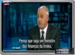 Gaspar ministro da troika