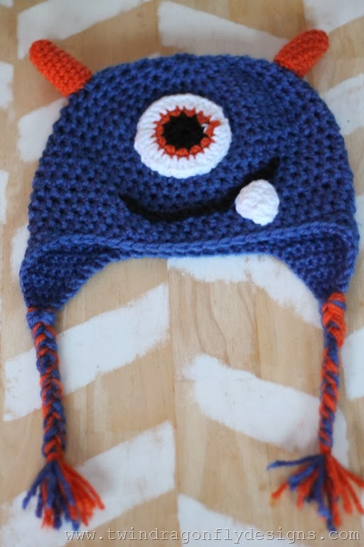 Crochet Monster Hat (12)
