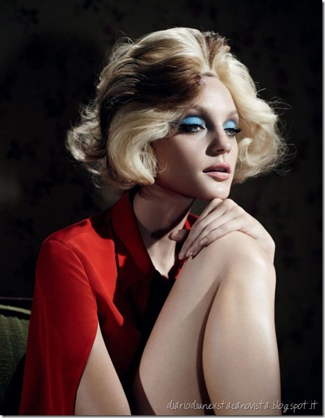 Jessica Stam Long Day s Journey Into Night - W by Willy Vanderperre January 2013