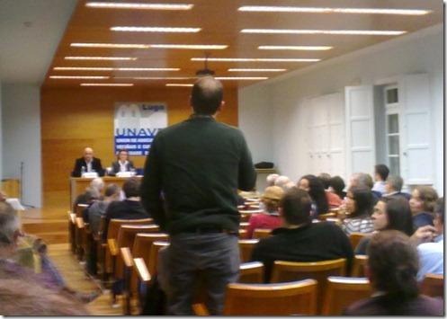 Ramón Vázquez fóra do debate
