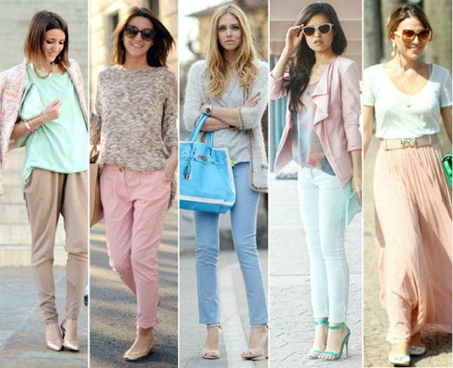 candy color look fashion tendencia verao 2013