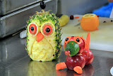 Fruit Carving Demonstration - Celebrity Summit
