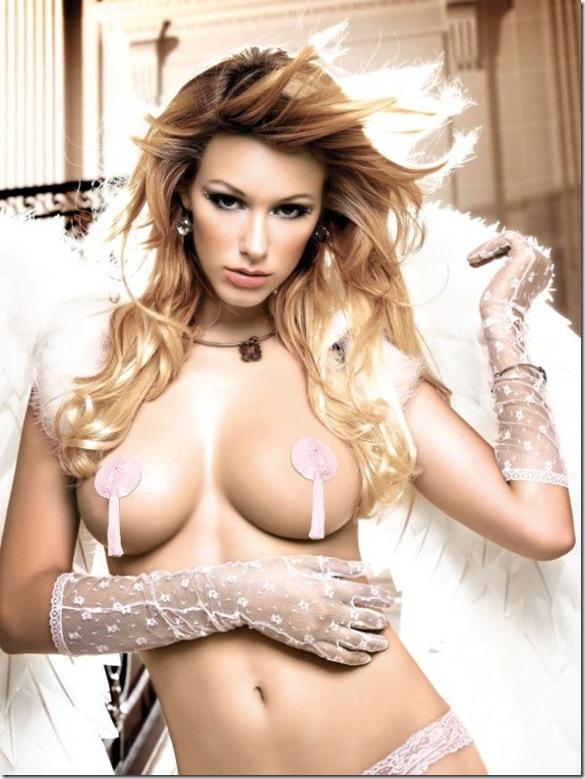 sexy mandy graff lingerie 1